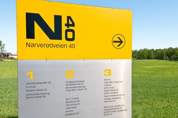 Utleie av kontor, lager og industri - i Tønsberg